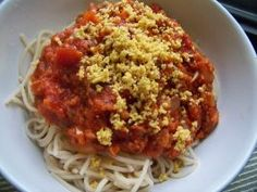 My Vegan Parmesan