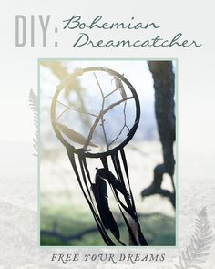 #DIY Bohemian Dreamcatchers