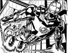 "Check out new work on my @Behance portfolio: ""Marvel Inks"" http://be.net/gallery/36136959/Marvel-Inks"
