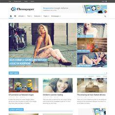Newspaper Responsive Magazine WordPress Theme   Best WordPress Themes 2014