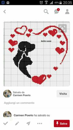 Cross Stitch Quotes, Cross Stitch Pictures, Cute Cross Stitch, Cross Stitch Heart, Cross Stitch Designs, Cross Stitch Patterns, Cross Stitching, Cross Stitch Embroidery, Beginning Embroidery