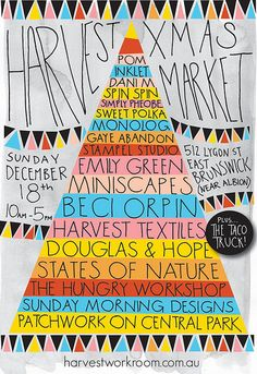 Harvest Market (via Ink & Spindle) #InkAndSpindle #triangle