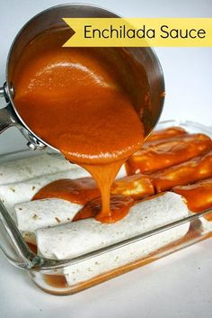 People rave about how quick, easy, and delicious it is to make homemade enchilada sauce. The chipotle variation is my favorite!