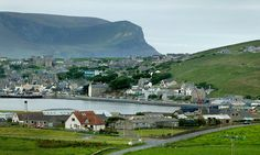 """Soul-landscape ... Stromness, Orkney.  The Orcadian poet, playwright and novelist George Mackay Brown was also, as Douglas Dunn noted in the Oxford Companion to Twentieth Century Poetry, """"a scholar and historian of his place"""". Mackay Brown's place was Stromness, his birth-town, soul-landscape and life-long home."""