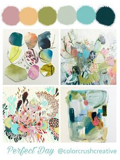 Color Crush Creative Palette: Perfect Day — Kellee Wynne Studios