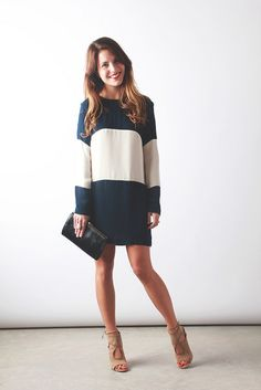 Heidi Merrick Colorblock Dress | perpetuallychic.com by laurenhcraig, via Flickr
