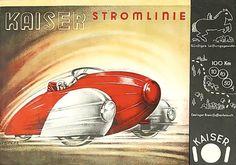 Kaiser Stromlinie, Germany 1935.
