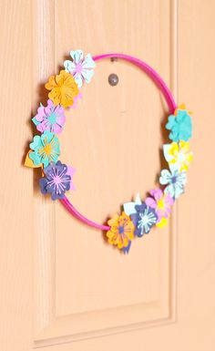 Colorful Paper Flowe