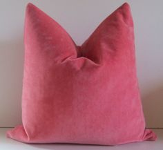 Coral pillow  Decorative Pillow Cover   20 inch  by studiotullia, $58.00