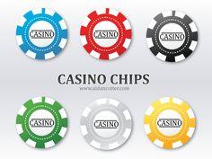 Free Poker Chip Vectors