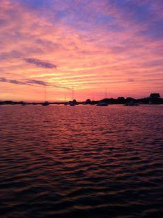 Saturday June 30th, 2012.  Sunrise over Great Salt Pond.  Photo by Block Island Fishworks.