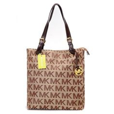 Michael Kors Jet Set Logo Large Brown Totes.More than 60% Off, I enjoy these bags.It's pretty cool (: JUST CLICK IMAGE~ | See more about michael kors, michael kors outlet and outlets.