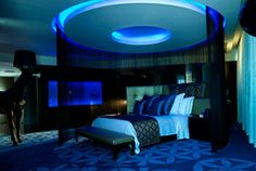 Image detail for -Luxury Bedroom Interior Design of Boutique W Hotel Doha, Qatar ...