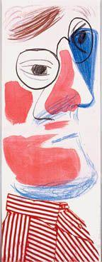 david Hockney self portrait