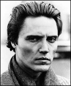 Christopher Walken - he's a great actor, so much so that he scares me.