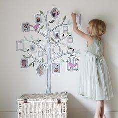Teach your kiddo their Family Tree :)