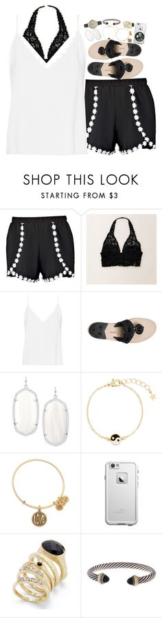 """Keep or delete? comment!"" by judebellar03 ❤ liked on Polyvore featuring Boohoo, Aerie, Vilshenko, Jack Rogers, Kendra Scott, Monsoon, Alex and Ani, Thalia Sodi, David Yurman and Olivia Burton"