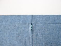How to sew a perfectly aligned waistband