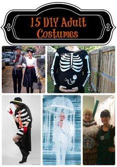 15 DIY Adult Halloween Costumes from The Pink Flour