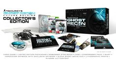 Tom Clancy's Ghost Recon Future Soldier The Ultimate Edition Tom Clancy's Ghost Recon, Future Soldier, Ghost Soldiers, Limited Edition Packaging, The Collector, Book Art, Banner, My Love, Prints