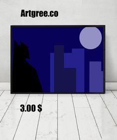 http://artgree.co/ #artgree #print  #frame #batman #digital