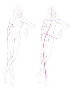 Part 2: The Fashion Figure: Drawing Movement and Poses by Antonella Avogadro