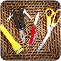 Road trip essentials: Scissors (keep it in the glove box — you'll be amazed at how much you'll use it) onstarconnections.com | #tips #roadtrip #travel #onstar