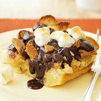 S'Mores Bread Pudding  (tonight's dessert - what diet?!? Delish!)