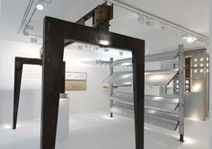 Jean Prouvé exhibition at Gagosian Gallery in Paris