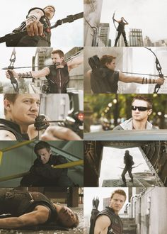 Hawkeye. My personal favorite. Actually I love them all and I can't choose which I love best, but he's definitely up there(: