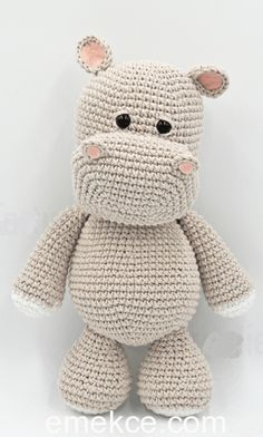 Mesmerizing Crochet an Amigurumi Rabbit Ideas. Lovely Crochet an Amigurumi Rabbit Ideas. Crochet Easter, Crochet Hippo, Crochet Animal Amigurumi, Crochet Amigurumi Free Patterns, Amigurumi Doll, Crochet Dolls, Crochet Baby, Free Crochet, Knitting Patterns