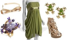 Outfit inspired by Disney's Princess Tiana