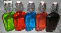 Jolly rancher vodka drinks!!