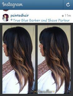 Strange Peekaboo Highlights Peekaboo Hair Hairstylist Hair By Short Hairstyles For Black Women Fulllsitofus