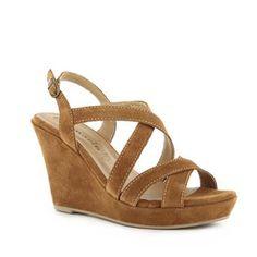 Sandales à talon compensé | Tamaris | Brantano