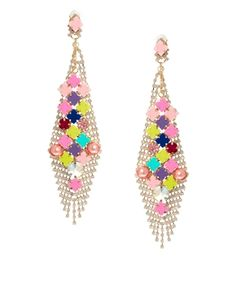 ASOS Holidays Glitter Pom Earrings | Victoria, after | Pinterest ...