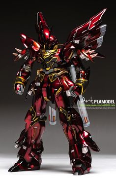 "Custom Build: MG 1/100 Sinanju ""Dark Gloss ver."" - Gundam Kits Collection News and Reviews"
