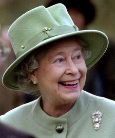 Queen Elizabeth II...brooch