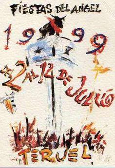 Carteles Fiestas del Ángel Teruel 1999