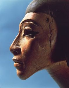 Egypt, Ornamental detail of an harp found in el-Amarna, eighteenth dynasty 16th-13th Century B.C., France, Paris, France, Paris, Musee du Louvre, New Kingdom, Egyptian art