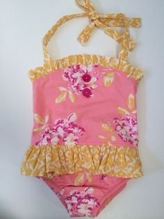 Check out this listing on Kidizen: Eleanor Rose Grow With Me Swim Suit via @kidizen #shopkidizen