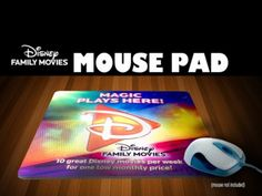 Giveaway: 5 Disney Family Movie Mouse Pads to win! – US. Ends 10/10/12