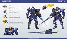 ArtStation - Mackenzie Overwatch fan-made character, Mikhail Mishkin