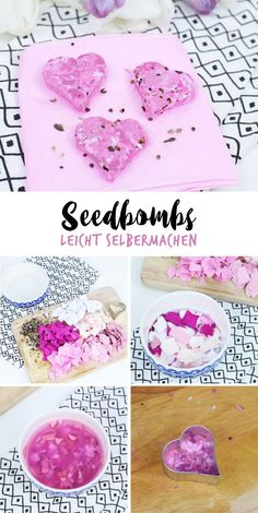 Seedbombs leicht selbermachen