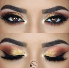 """(@makeupbymeggan) on Instagram: """"Thankful for all of my amazing followers! Sunset eyes ✨eyes are @anastasiabeverlyhills prism…"""""""