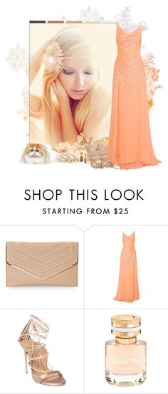 """Just Peachy"" by lmm2nd ❤ liked on Polyvore featuring Sasha, Halston Heritage, Dsquared2, Boucheron and Robert Lee Morris"