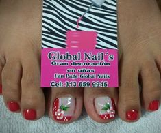 Discover recipes, home ideas, style inspiration and other ideas to try. Nails, Work Nails, Toe Nail Art, Flowers Decoration, Gel Toe Nails, Finger Nails, Ongles, Nail, Nail Manicure
