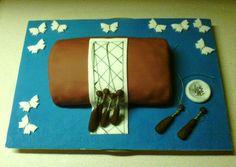 Klöppel-Torte Cake Art, Birthday, Cakes, Art Cakes