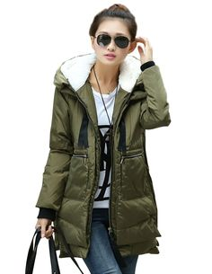 Ladies-Cotton-Padded-Coat-with-hair-cap-winter-jacket-cotton ...