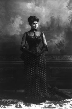 MRS. FRANCES FOLSOM CLEVELAND FIRST LADY OF THE USA